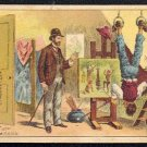 """Victorian Trade Card - Arbuckle Brothers Coffee Company -  """"REALISM OUTDONE"""" (#85)"""