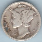 1929-S Mercury Dime (U.S. Coin - 90% Silver) - Circulated