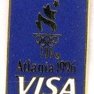 1996 Atlanta Summer Olympics Pin - by VISA