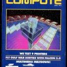 6/91 COMPUTE Magazine: GAZETTE Edition - COMMODORE 64/128
