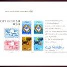 UNITED NATIONS POSTAL ADMINISTRATION Souvenir Card #14 - 1978 ICAO: CIVIL AVIATION - Mint