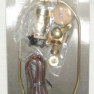 "MAKE-A-LAMP KIT (#70269) by Angelo - w/ 10"" Lamp Harp, Finial, Cord and Fittings"