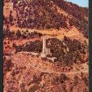 1950s COLORADO SPRINGS, COLORADO - Will Rogers Shrine - Aerial View - Unused Postcard