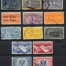 1895-1957 - 13 Different - United States Special Delivery Stamps - Used