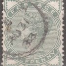 GREAT BRITAIN Postage Stamp - 1880 - ½p Queen Victoria (Sc. #78) - Used