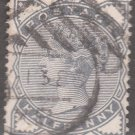 GREAT BRITAIN Postage Stamp - 1884 - ½p Queen Victoria (Sc. #98) - Used
