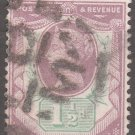 GREAT BRITAIN Postage Stamp - 1887 - 1½p Queen Victoria (Sc. #112) - Used