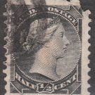 CANADA Postage Stamp - 1882 - ½c Queen Victoria (Sc. #34) - Used