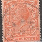 GREAT BRITAIN Postage Stamp - 1924 - 2p King George V (Sc. #190) - Used