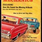 8/66 Popular Mechanics - MISSING H-BOMB, SCUBA-DIVING FIRE-EATERS, ALLIGATOR POACHERS