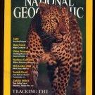 October, 2001 - NATIONAL GEOGRAPHIC - Leopard, Volcanoes, Kenya Man, Swahili Coast