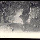 "Luray Caverns, VIRGINIA - ""Hanging Rock"" Vintage Postcard"