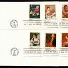 FARNAM - 1974 Universal Postal Union (#1530-7) FDCs (Set of 8) - UA