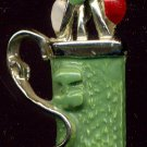 Cute and Colorful Golf Bag Pin