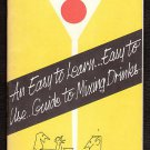 1969 HIRAM WALKER - Drink Mixing / Bar Guide Booklet