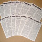 1995 OCEAN & CRUISE NEWS - Complete Year - All 12 Issues