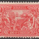BRAZIL Postage Stamp - 1908 - 100r Foreign Commerce Centenary (Sc. #190) - Unused