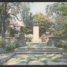1950s WELLESLEY, MASSACHUSETTS - War Memorial and Town Hall - Postcard