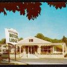 1950s GETTYSBURG, PENNSYLVANIA - Gettysburg Motor Lodge - Postcard