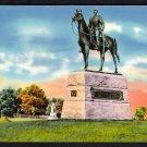 1950s GETTYSBURG, PENNSYLVANIA - General George G. Meade Memorial - Postcard