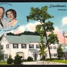 1950s GETTYSBURG, PENNSYLVANIA - Eisenhower Farm - Postcard