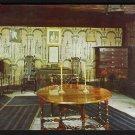 1950s BOSTON, MASSACHUSETTS - Paul Revere House, Living Room - Postcard