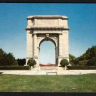 1950s VALLEY FORGE, PENNSYLVANIA - National Memorial Arch - Postcard