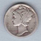 1928-S Mercury Dime (U.S. Coin - 90% Silver) - Circulated