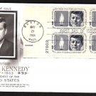 ART CRAFT - 1964 John F. Kennedy Memorial (#1246) FDC - PB UA