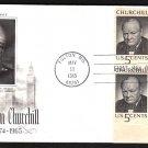 ART CRAFT - 1965 Winston Churchill (#1264) FDC - PB UA