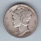 1926 Mercury Dime (U.S. Coin - 90% Silver) - Circulated