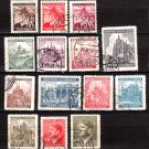 BOHEMIA and MORAVIA - 1939-1942 - 14 Different Postage Stamps - Used