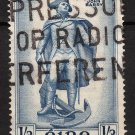 IRELAND Postage Stamp - 1956 - 1s3p John Barry Statue (Sc. #156) - Used