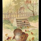 1889 Victorian Trade Card - Arbuckle Brothers Coffee Company - CHICKEN (#16)