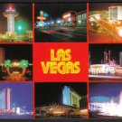 1980s LAS VEGAS, NEV.- Multiple Casino Views (Dunes, Landmark, etc.) - Unused Postcard