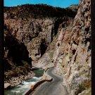 1950s WYOMING (Yellowstone area) - Shoshone Cañon / Cody Way - Unused Postcard
