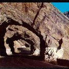 1950s WYOMING (Yellowstone area) - Triple Tunnels / Cody Way - Unused Postcard