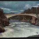 1950s YELLOWSTONE NATIONAL PARK - Chittenden Bridge - Unused Postcard