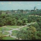 1950s BOSTON, MASSACHUSETTS - Aerial View of Boston Commons - Unused Postcard