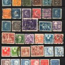 SWEDEN - 1920-2002 - 62 Different Postage Stamps - Used