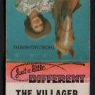 THE VILLAGER Restaurant - Norwich, Vermont - Vintage Matchbook Cover