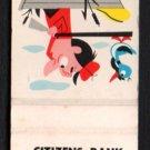 CITIZENS BANK & TRUST COMPANY - Park Ridge, Illinois - Vintage Matchbook Cover