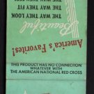 RED CROSS SHOES / KRAUSE'S BOOTERY - Chicago, Illinois - Vintage Matchbook Cover