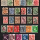 FINLAND - 1881-1956 - 29 Different Postage Stamps - Used