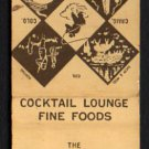 COSGRIFF HOTEL AND COURT - Craig, Colorado - Vintage Matchbook Cover