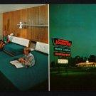 HOWARD JOHNSON'S MOTOR LODGE - Penn's Grove, New Jersey - 1967 Wide Postcard