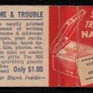 THE WRITEWELL CO. - Boston, Massachusetts - 1950s(?) Vintage Matchbook Cover