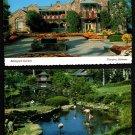 1970s BELLINGRATH GARDENS - Theodore, Alabama - 2 Vintage Scenic Postcards, Unused