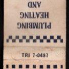 HERBERT T. CONNOR - Rockland, Massachusetts - 1950s(?) Vintage Matchbook Cover