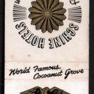 AMBASSADOR HOTEL - Los Angeles, California - 1950s Vintage Matchbook Cover